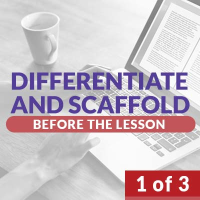 Differentiation and Scaffolding