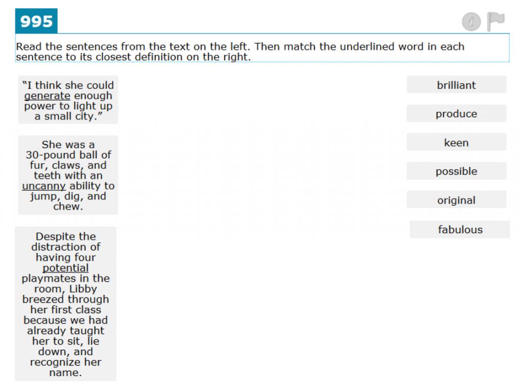 Grade 6 Context Clues