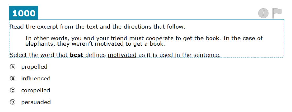 Grade 8 Context Clues