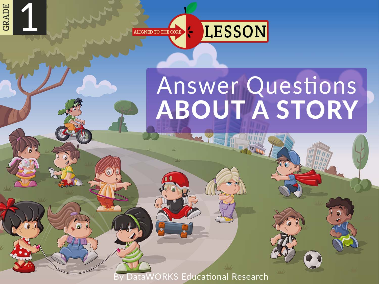 Explicit Direct Instruciton (EDI) First Grade Lesson Answer Questions About A Story