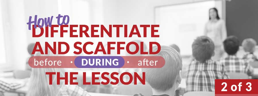 Differentiate and Scaffold