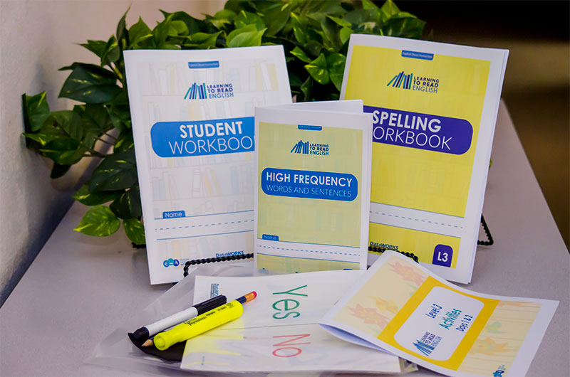 Learning to Read English Curriculum Material